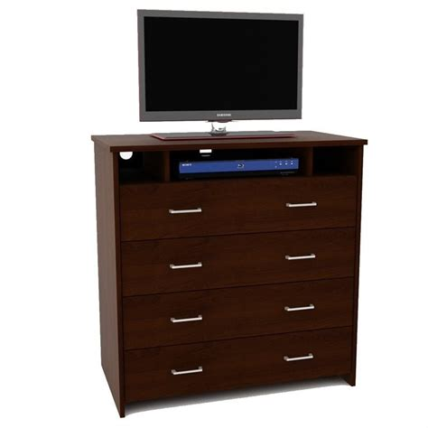 Ameriwood 4 Drawer Chest by Ameriwood 4 Drawer Media Mahogany Chest