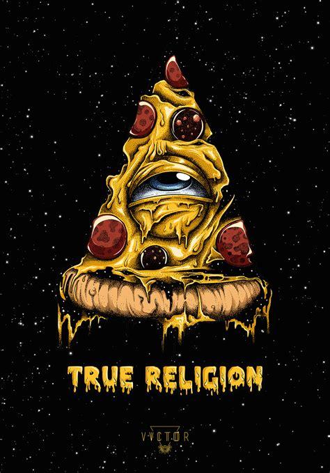 illuminati religion true religion pizza illuminati on behance
