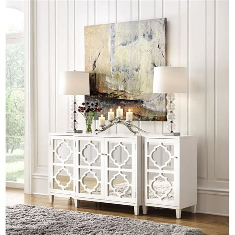 home decorations collections home decorators collection reflections white storage cabinet 9714900410 the home depot