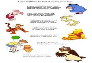 Winnie the pooh characters mental disorders cartoons your children