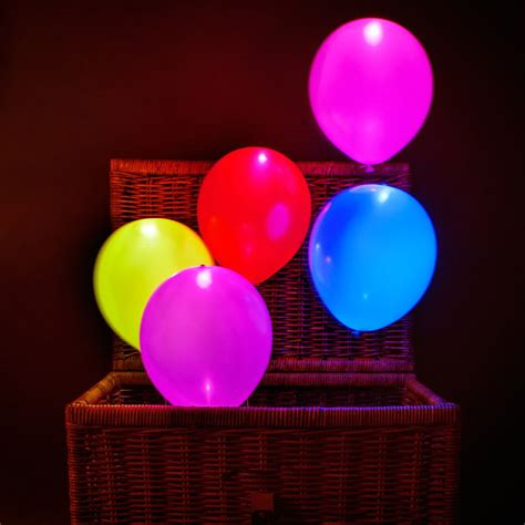 helium balloons with led lights high quality light up helium inflatable led balloons 2000