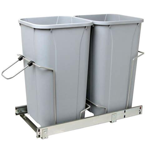 rangement poubelle cuisine poubelle pour armoire rona