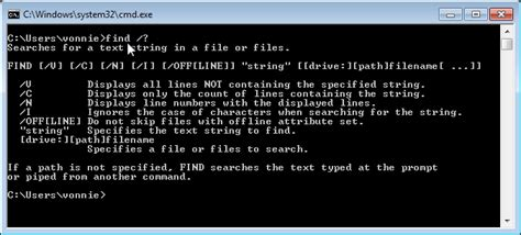 Cmd Search How To Search Inside Files On Windows 7 Fixedbyvonnie