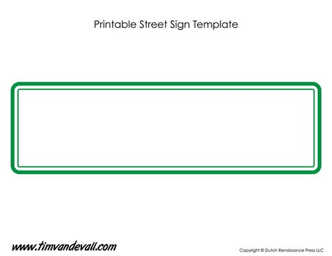 signboard template sign template tim s printables
