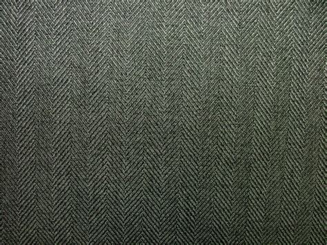upholstery and curtain fabric herringbone charcoal tweed wool effect washable upholstery