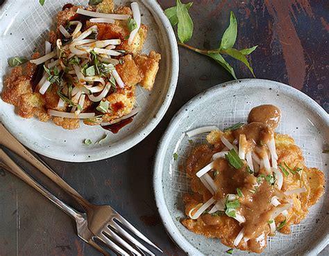 Viet World Kitchen by Fried Tofu And Egg Pancake Recipe Tahu Telur Viet
