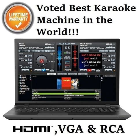 best karaoke machine karaoke computer laptop professional