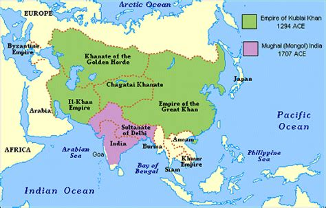 genghis khan otomano the mongol empire thinglink