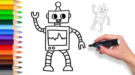 Drawing Robot by Robot Drawing Pictures Www Pixshark Images