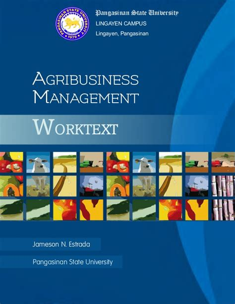 Agribusiness Management by Agribusiness Management Worktext