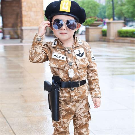 Sweter Boy Army Ab fall boys fashion camouflage clothing set baby kid clothes jacket
