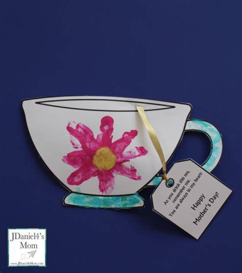 tea crafts for s day tea crafts