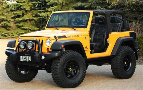 Jeep Wagler Jeep Readies Concepts For Moab Trek Thedetroitbureau