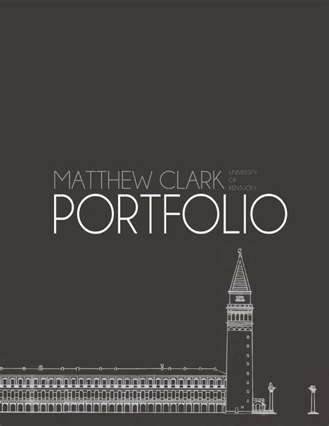 matthew clark landscape architecture portfolio  matthew clark issuu