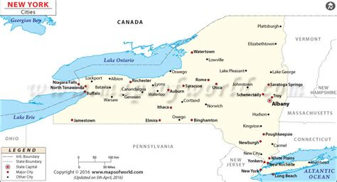 new york city usa map cities in new york state list of new york cities