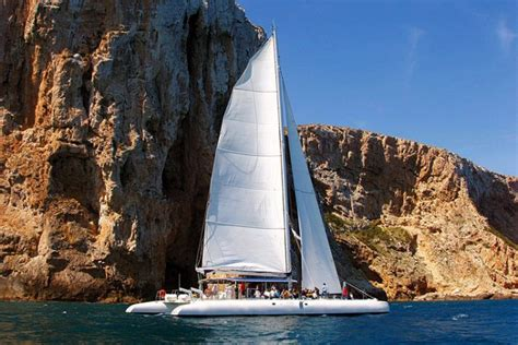 catamaran boat trips benidorm benidorm boat trip with lunch very valencia