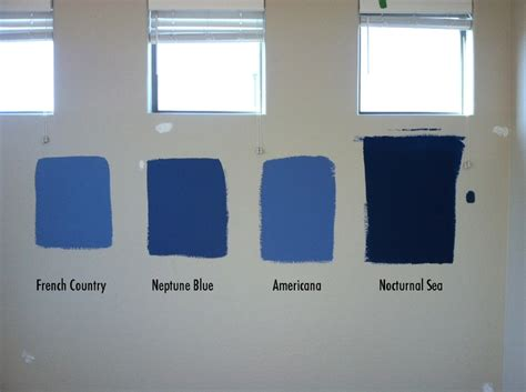 blues for the bedroom from behr paints country neptune blue americana nocturnal sea