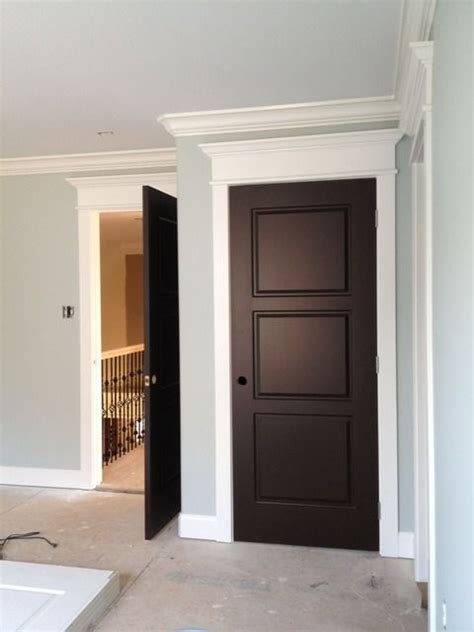 doors with white trim paint colors