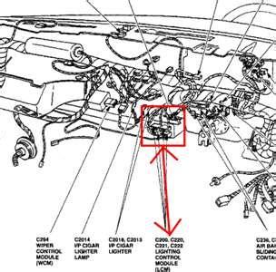 1999 lincoln town car lighting control module town car lighting control module questions answers with