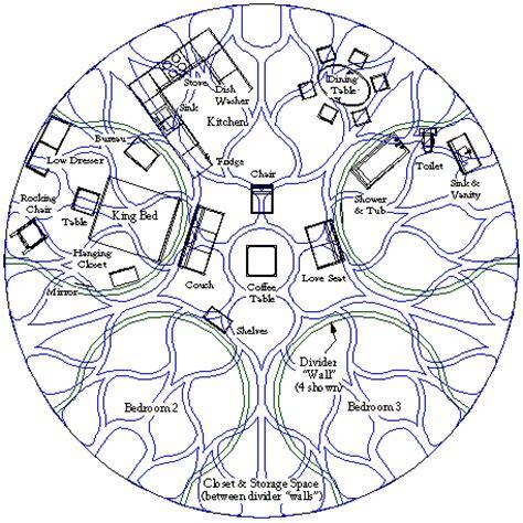 Bedroom Floor Plans Floor Plan For A 50 Lotus Dome