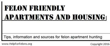 felon friendly apartments housing for felons