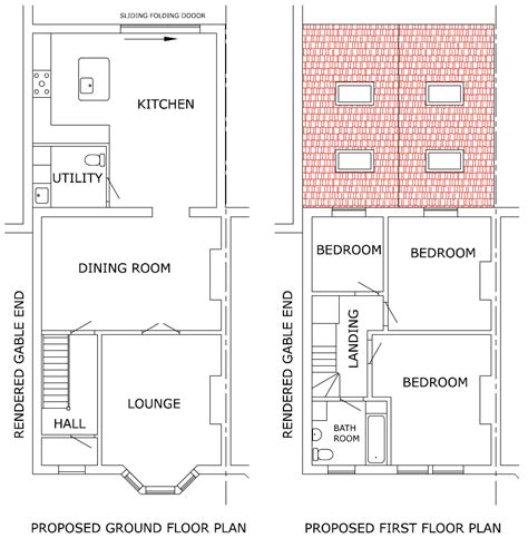Planning Extensions Conversions By Linebuild In Complete Building Plans