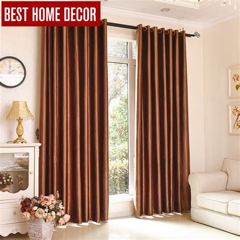 best home decor finished draps window blackout curtains