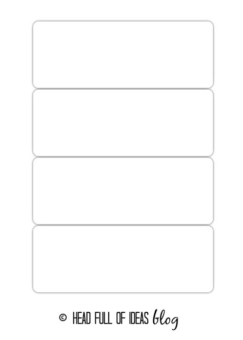 download word template flash cards free pigprogs