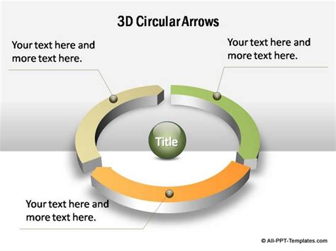 Powerpoint Circular Arrows Set Powerpoint Circular Arrow
