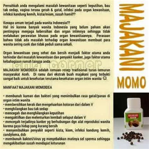 Majakani Momo Manjakani Momo Berbonus cantik sehat luar dalam dengan manjakani dan mpot2 momo