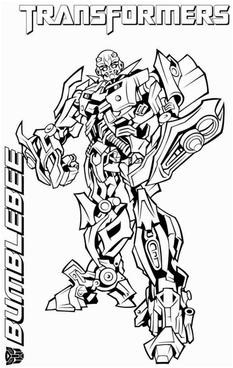Transformers Bumblebee Coloring Pages transformers coloring pages bumblebee coloring pages