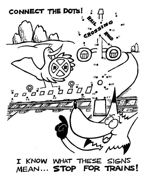 train crossing coloring page free coloring pages of train crossing