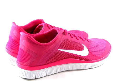 pink nike running shoes nike free 4 0 v3 pink white running s shoes