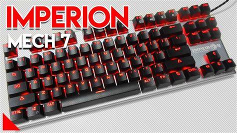 Meetion Mk04 Like Imperion Mech 7 Gaming Keyboard Mechanical Tkl keyboard mecha rgb termurah imperion mech 7