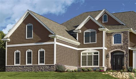 shingle sided houses northwoods 174 siding offers design possibilities for accent areas or whole house
