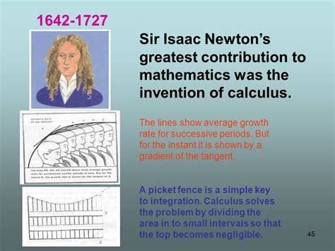 isaac newton calculus biography mathematics a joy ride ppt download