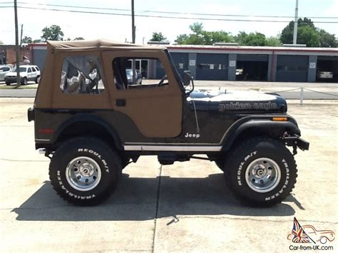 jeep 1980 cj5 1980 jeep cj5 golden eagle