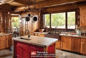 log home kitchen ideas handcrafted log home kitchen flickr photo sharing