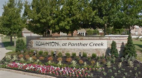Panther Creek Post Office by Frisco Fence Company