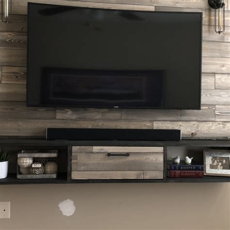 shiplap entertainment center ryobi nation projects