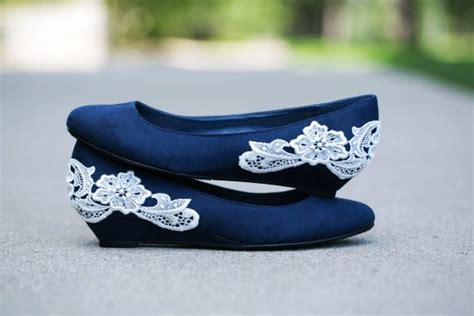 blue flat wedding shoes navy blue wedding shoes flats ipunya