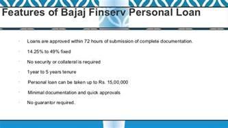 bajaj personal loans bajaj finserv personal loan interest rates eligibility
