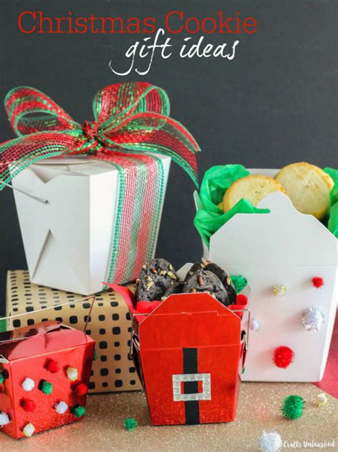 christmas cookie gift ideas chinese food containers