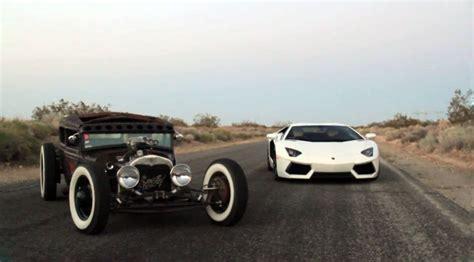 Lamborghini Rat Rod Lamborghini Aventador And Ford Model A Rat Rod Photo 3
