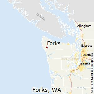 Forks Washington Map by Best Places To Live In Forks Washington
