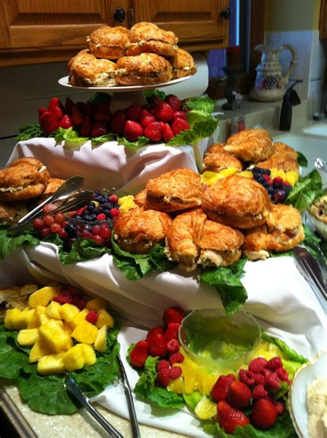 bridal shower fruit salad recipes californos wedding shower with chicken salad sandwiches fruit and chocolate sauce heavy hors d