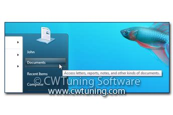 Disable Auto Tuning Windows 8 by Wintuning Start Menu And Taskbar Gt Remove 171 Documents