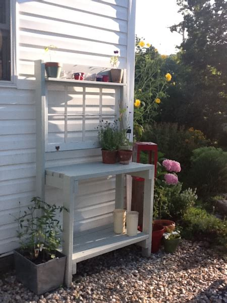 ana white garden bench potting bench do it yourself home projects from ana