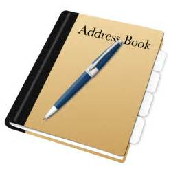 address book bing images