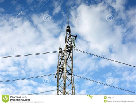 electric wires stock photography image 31797312